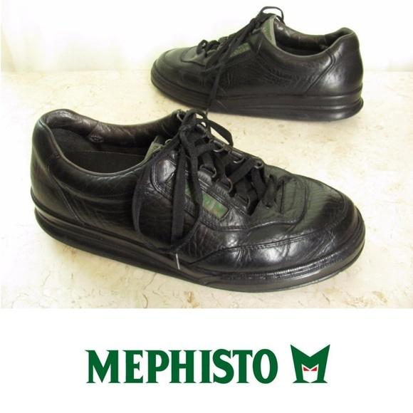 11815427e2 Mephisto Shoes   95 M Mens Black Leather Oxfords   Poshmark